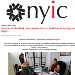 Member of the Week: Northern Manhattan Coalition for Immigrant Rights