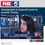 Immigrants Boycott Work to Protest Trump