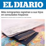 Más inmigrantes registran a sus hijos en consulados hispanos