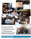Deportado, Dominicano y Humano: The Reality of Dominican Deportations and Related Policy Recommendations